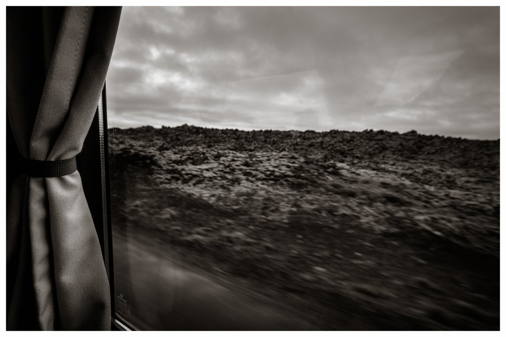 Volcanic Landscape,Road from Keflavik Airport   Iceland, 2010