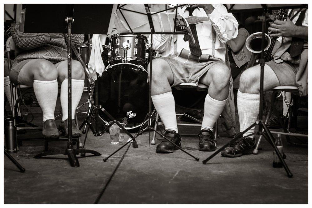 Oktoberfest, The Mad Bavarian Brass Band  Littleton, NH 2014