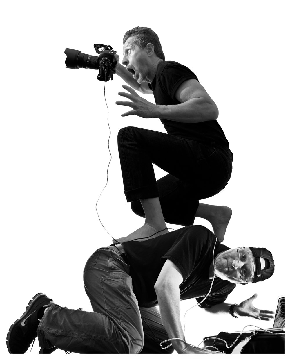 photographers Rob Van Petten and Randall Armor   2010