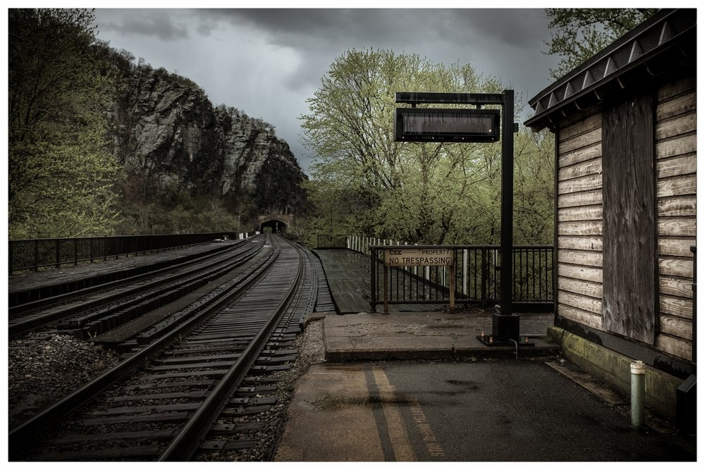 Train Station and Tunnel   Harpers Ferry, West Virginia 2016