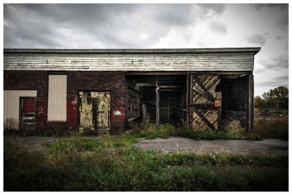 Railroad Maintenace Shop  Rouse's Point, NY 2016