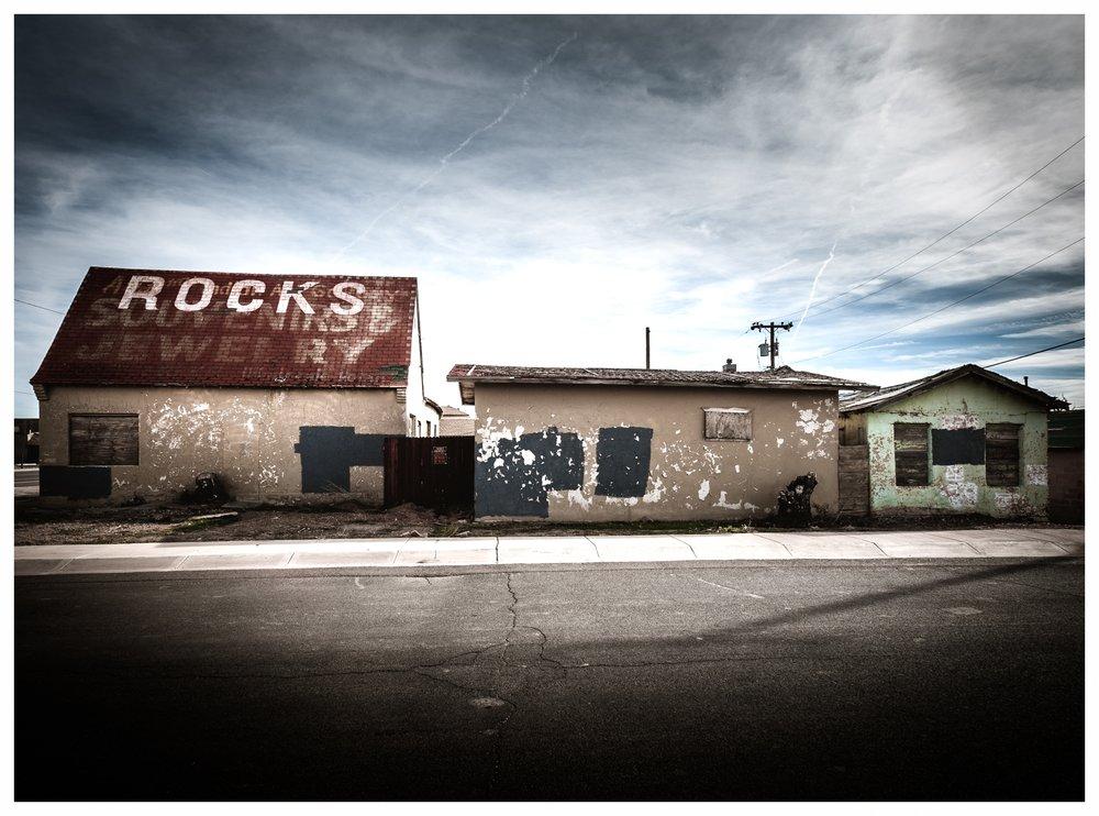 Rocks, Souvenirs, Jewelry Winslow AZ 2016