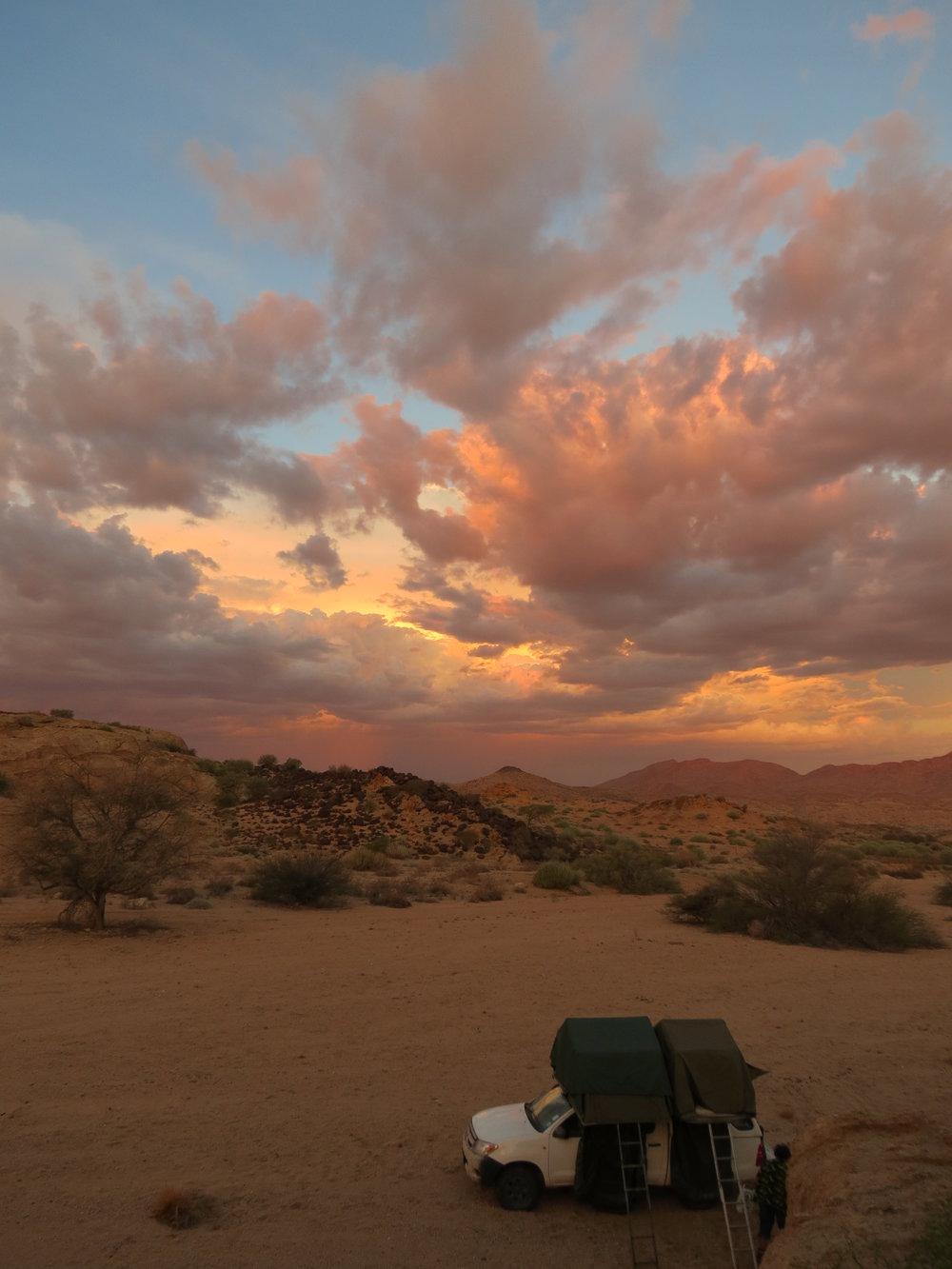 Final Camp Sunset