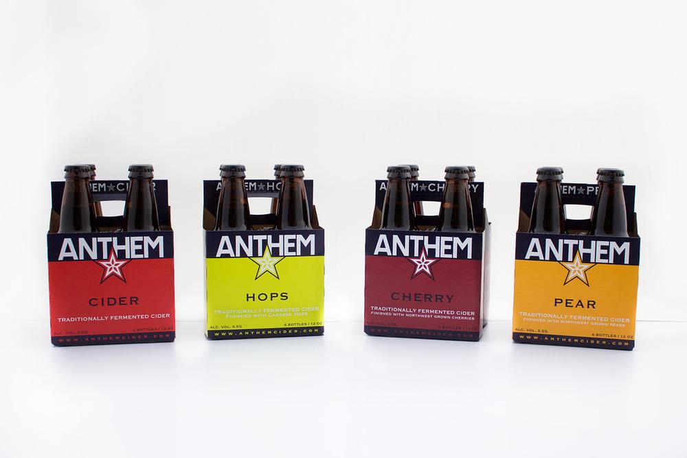 Anthem Cider   Packaging -  PRINT