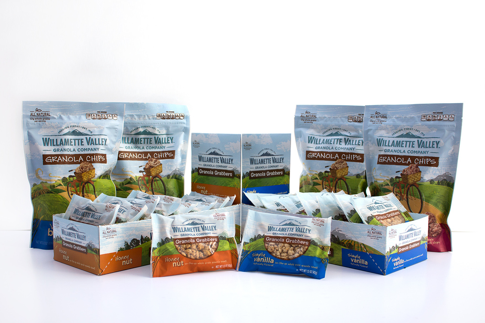 Willamette Valley Granola Company   Packaging -  PRINT