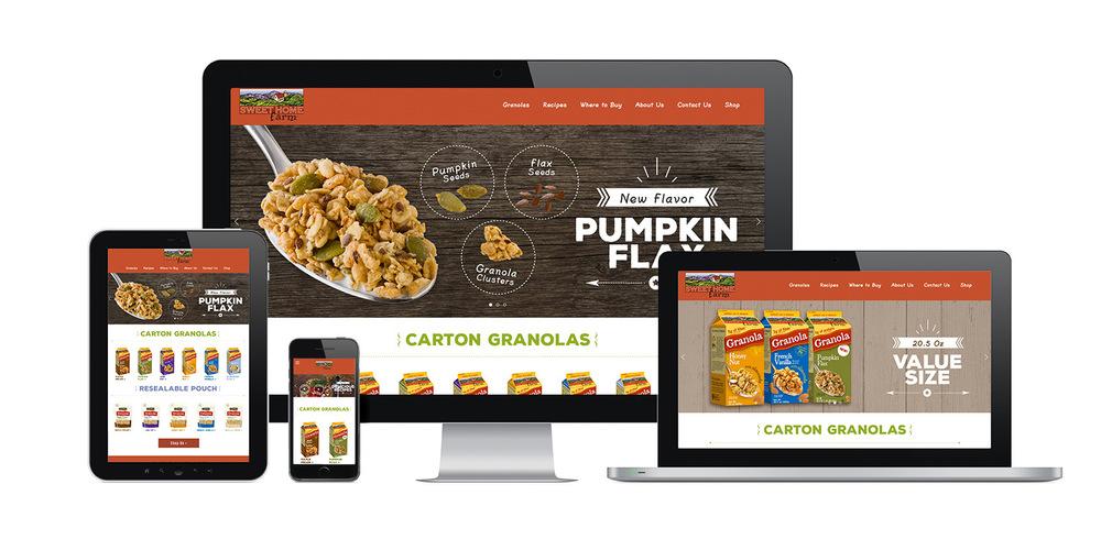 Sweet Home Farm | Granola Brand  - WEB