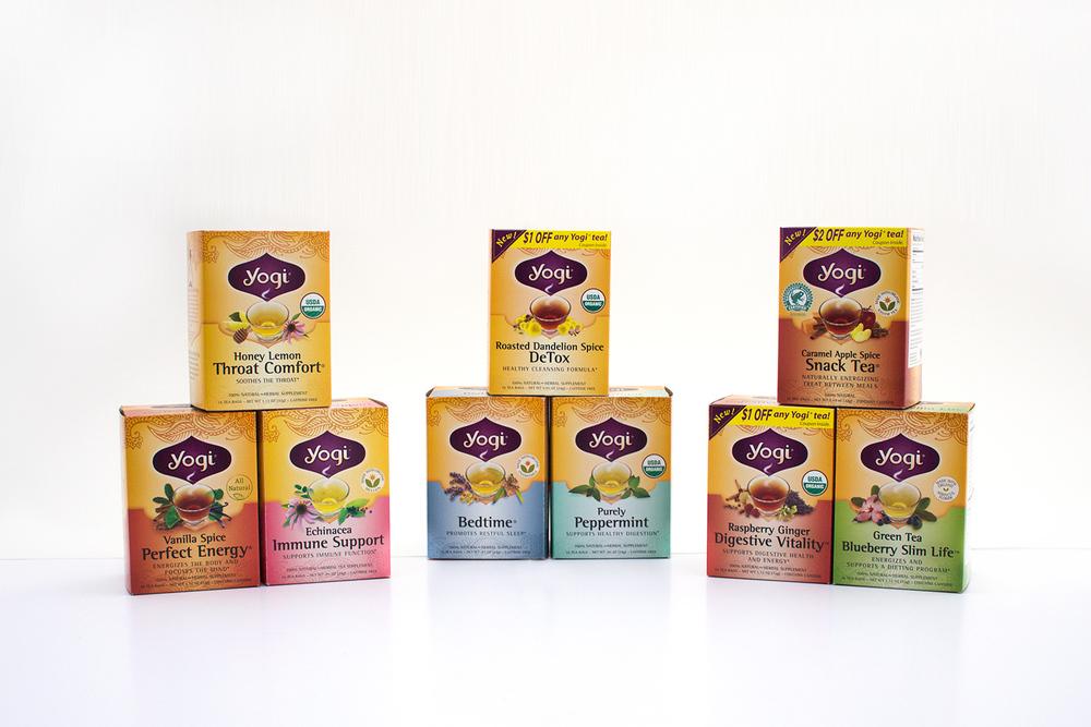 Yogi Tea Boxes