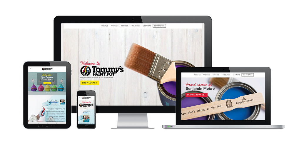 Tommy's Paint Pot |  Local Paint Retailer   - WEB