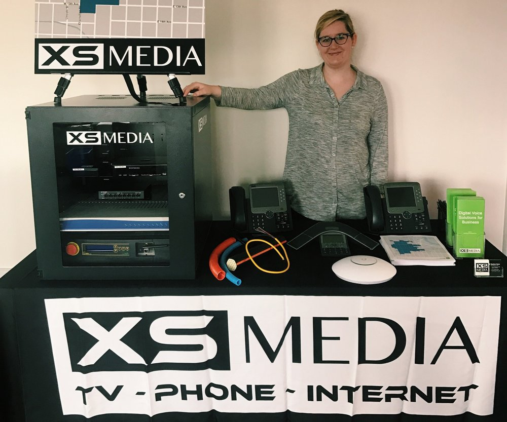 Katie Kizer, from XS Media is ready to take on any questions you may have about Fiber Internet.