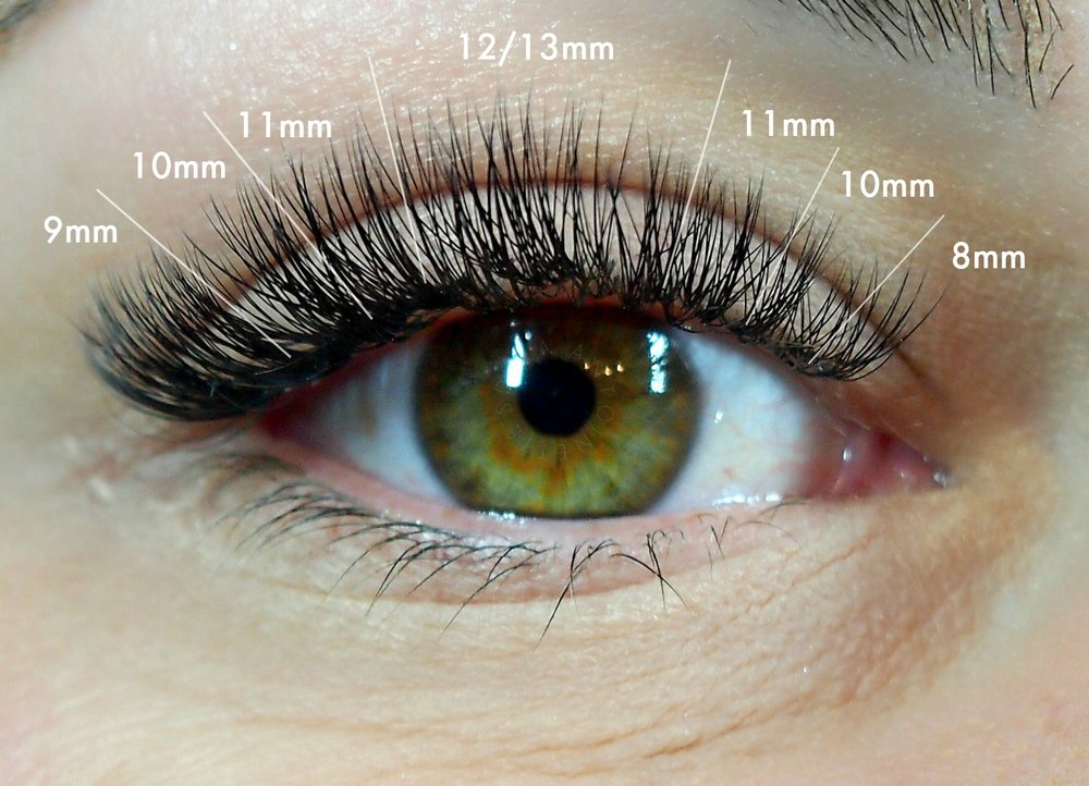 B Curl Lashes in .10 2-3D
