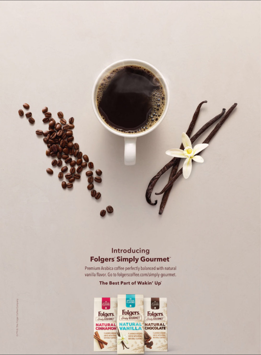 Folgers Simply Gourmet Print