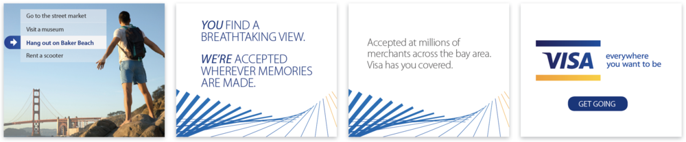 "Visa ""Everywhere You Want To Be"""
