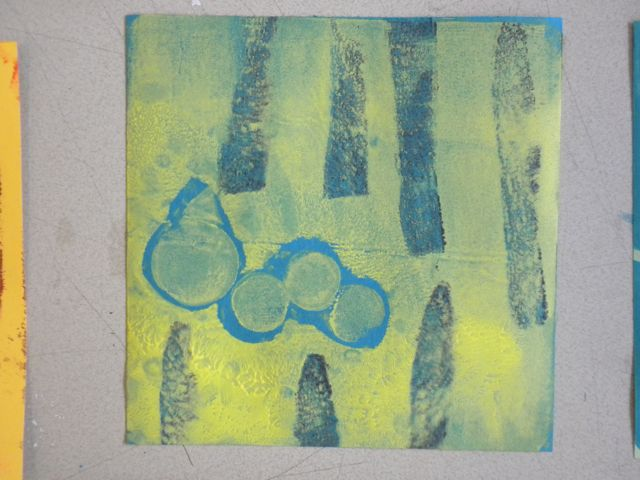 Jelly Block Print