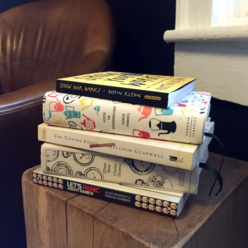 A smattering of books I read in 2014