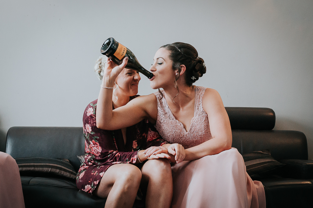 Real Moments - There are loads of benefits to having two photographers at your wedding, but one of the main advantages is that we can be in two places at the same time. Weddings are busy events, and we're always on the lookout for people enjoying themselves (or getting up to mischief)!
