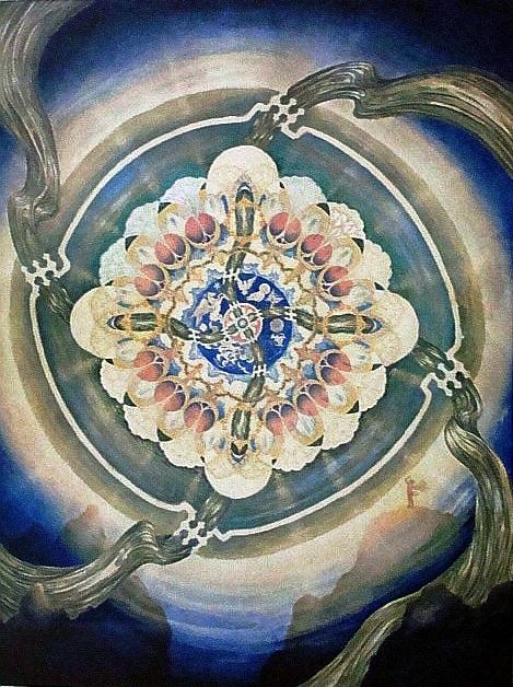 Martha's Mandala, c. 1940's
