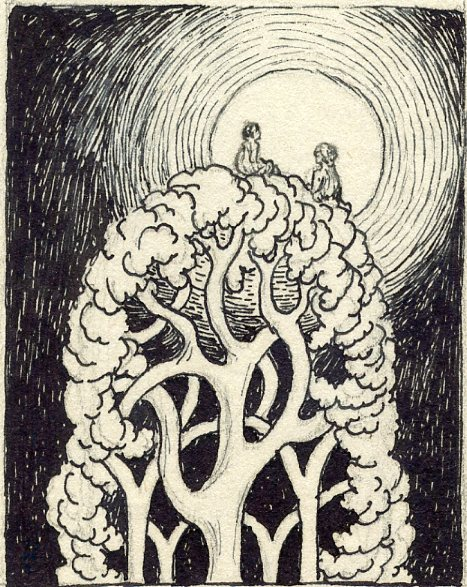 MSB, Tree Fairies, Small Series, c. 1940's