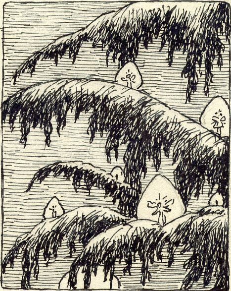 MSB, Tree Fairies, Small Series, c. 1940's.