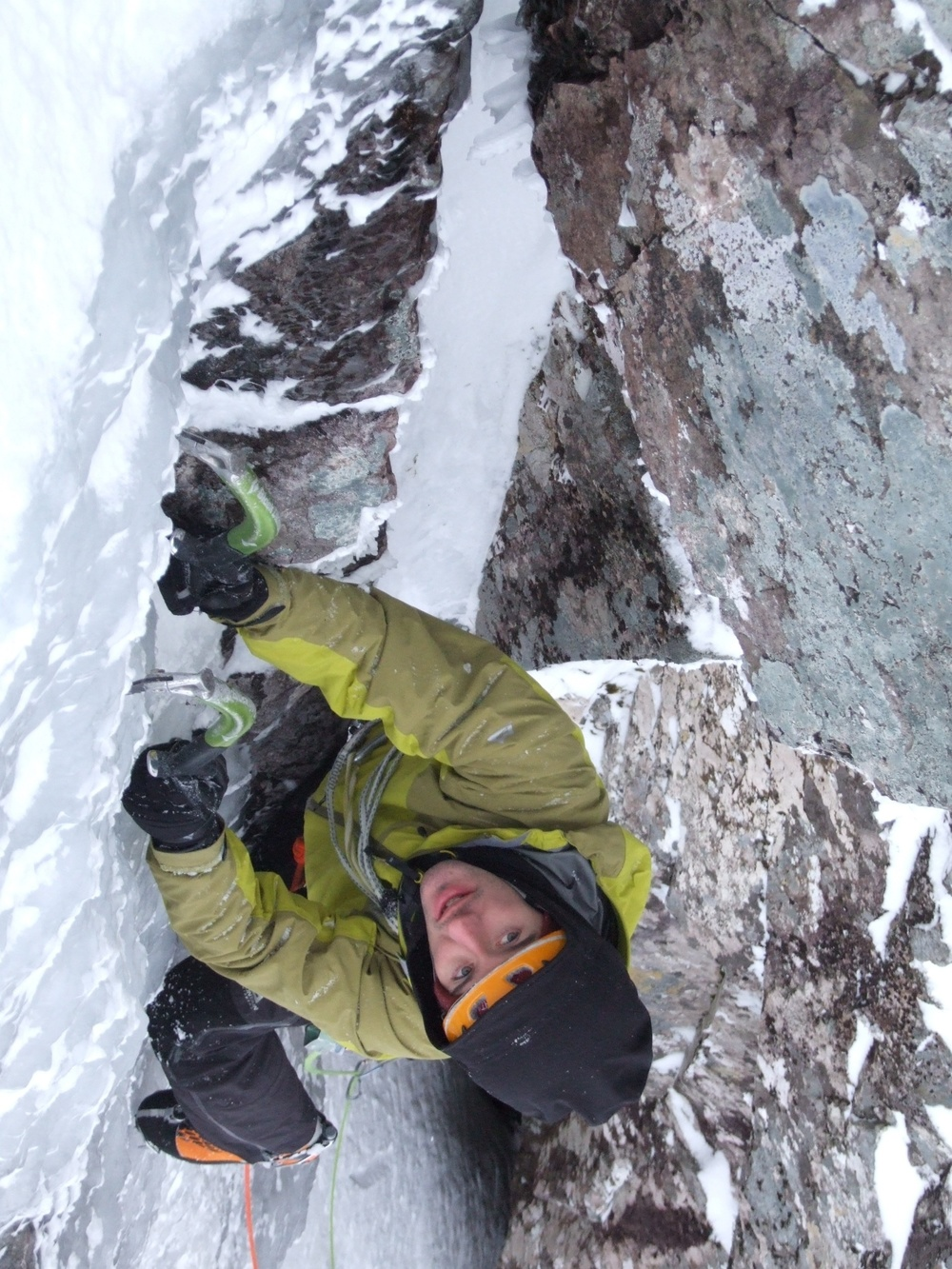 The Pinnacle-Dave MacLeod Climbing Minus Three Gully on Ben Nevis - Pic Paul Diffley - under 2M.jpg