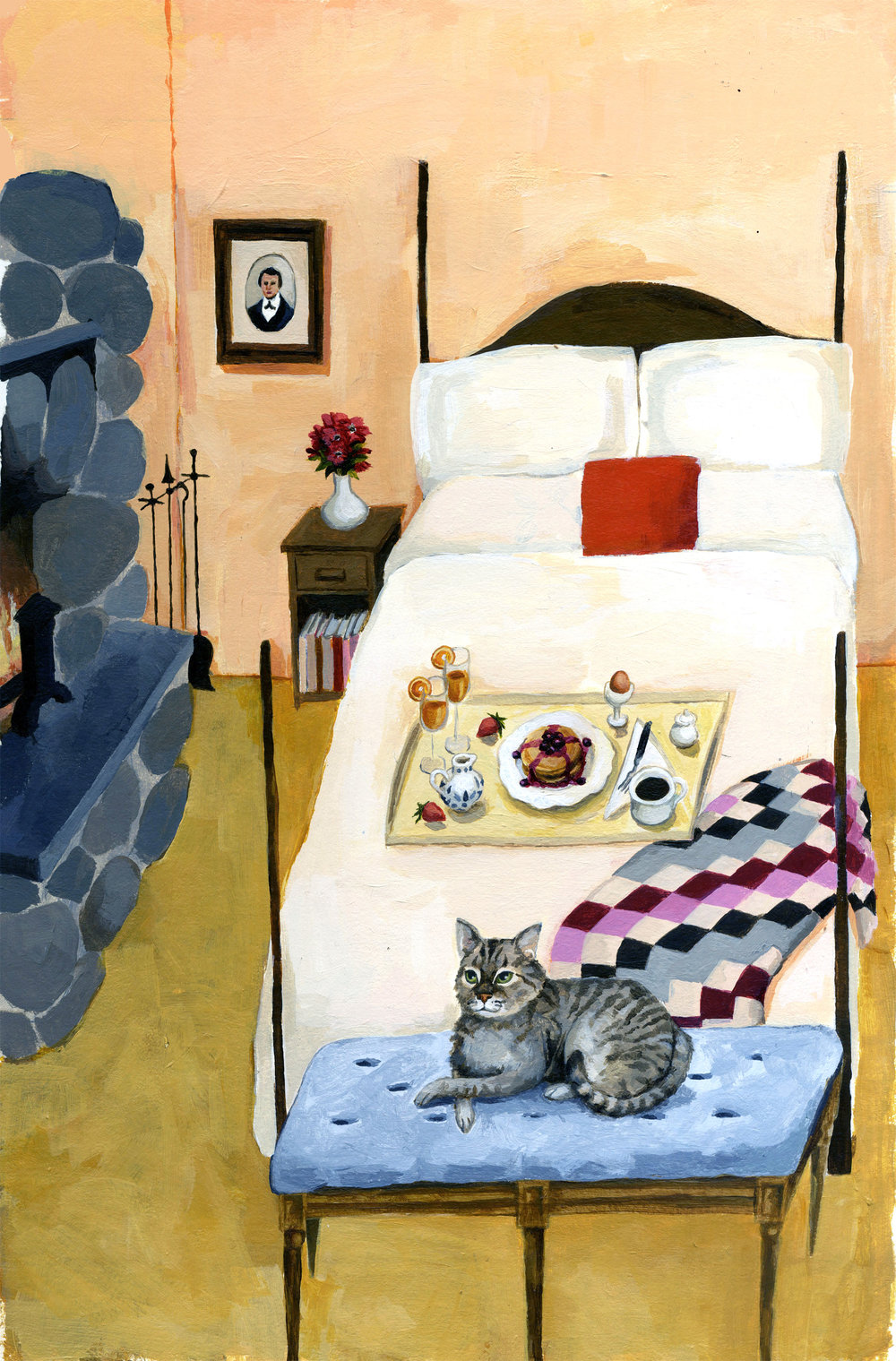 CozyInn-BedroomUnalarmedCat.jpg
