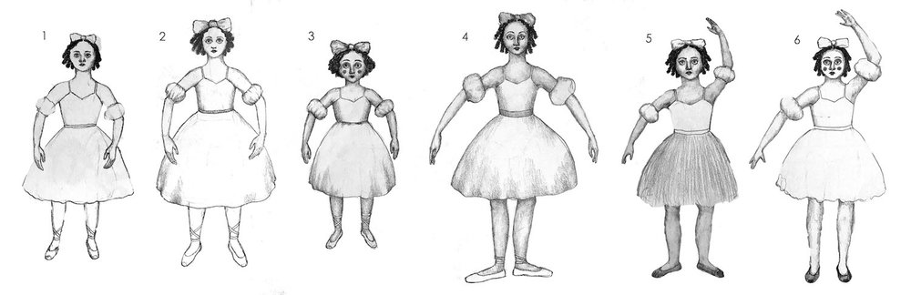 Different looks for Coppelia