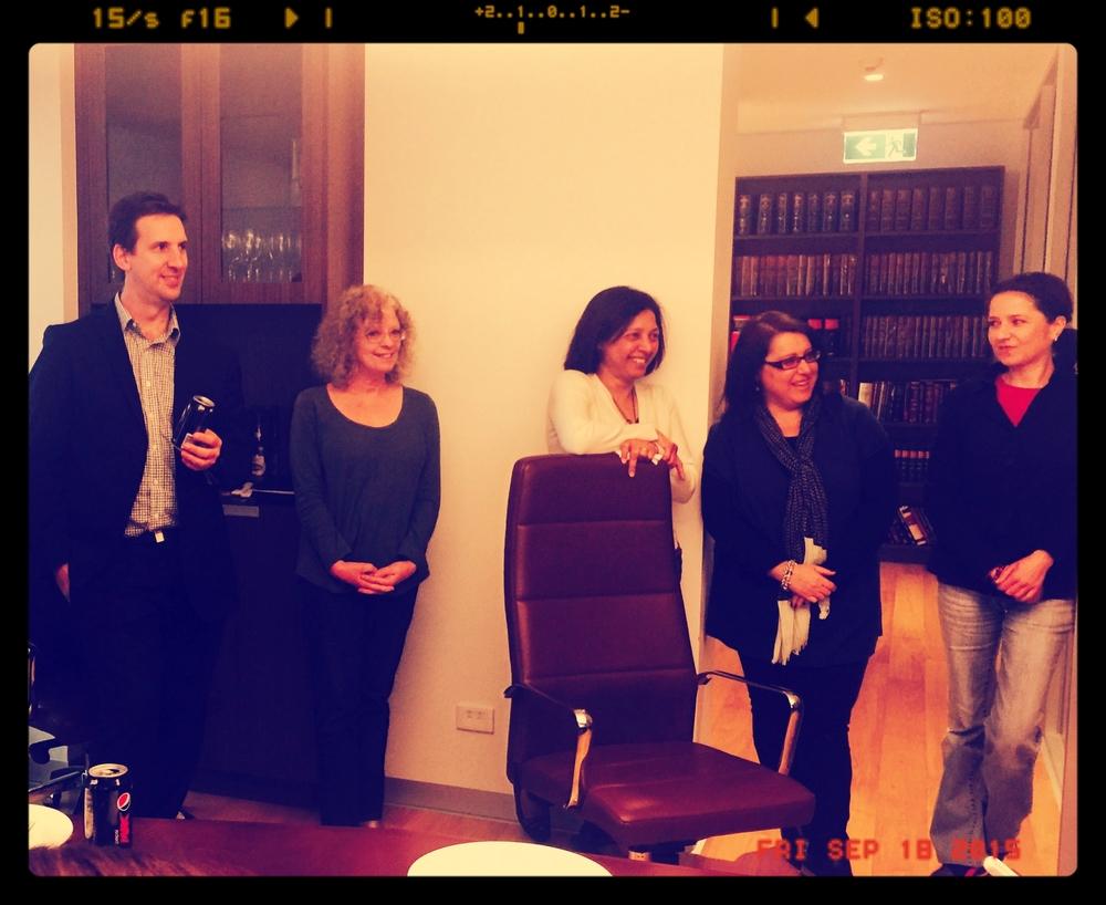 Tim, Christian, Nunila, Helen & Maja