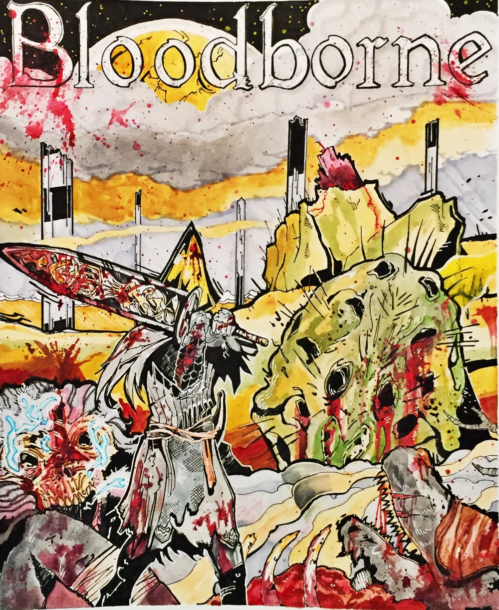 Bloodborne Fan Art
