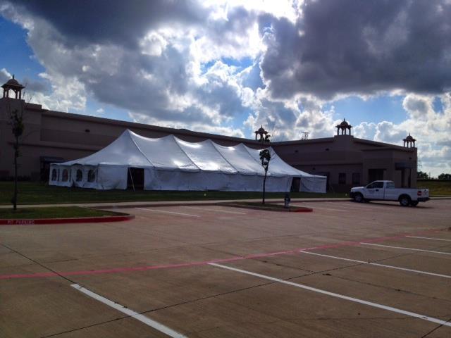40x120 Pole Tent