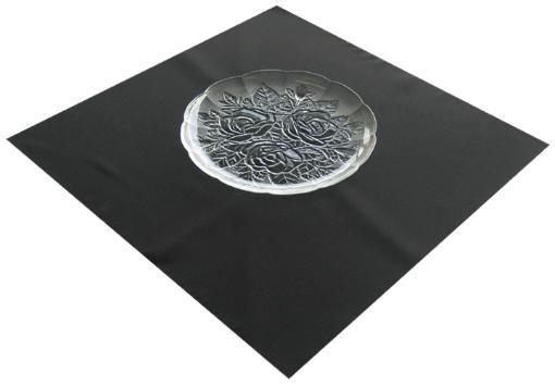 """10"""" Dinner Plate w/ Fleur Pattern"""