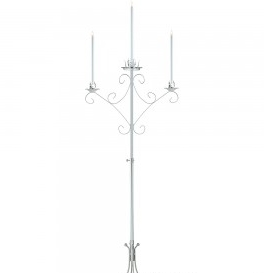 Unity Candelabra in Silver 2-light