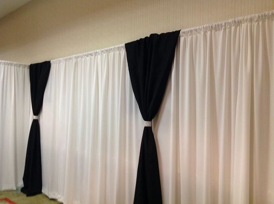 lined pin by drape velvet with black and avecdieu custom outline taffeta white drapes