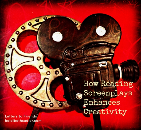 How Reading screenplays enhances creativity