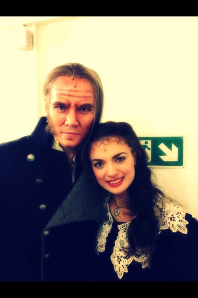 """Jay Bryce in """"Les Miserables"""""""