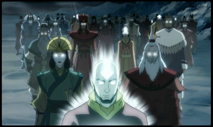 Aang and his previous lives
