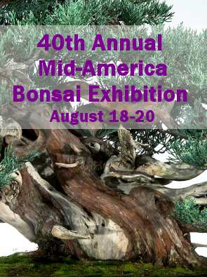40th Annual Mid-America Bonsai Exhibition