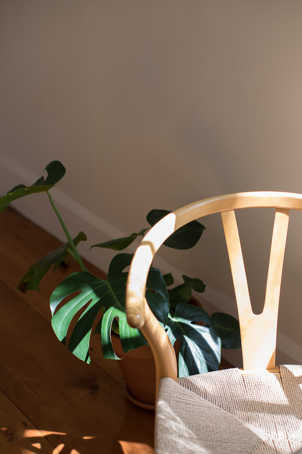 Light - Hans Wegner wishbone