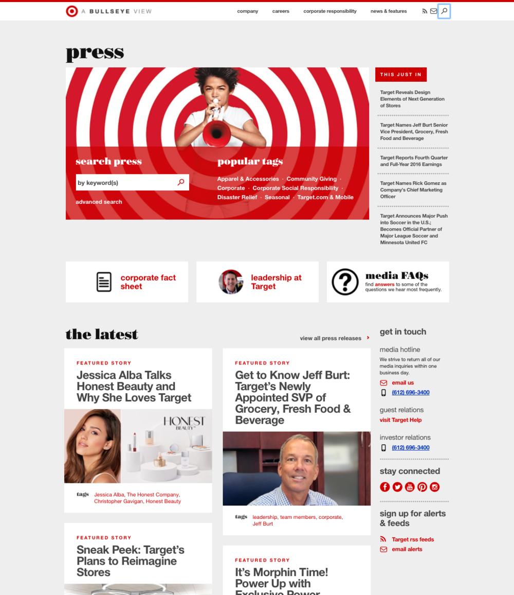 PR Example Site