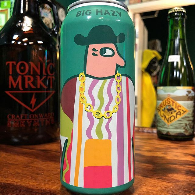 Big Hazy is one smooth operator! This 10% abv New England-style IPA from @MikkellerSD is brewed with Lupulin Powder. A pure, raw, uncut Tropical Juice Bomb! Very limited availability.