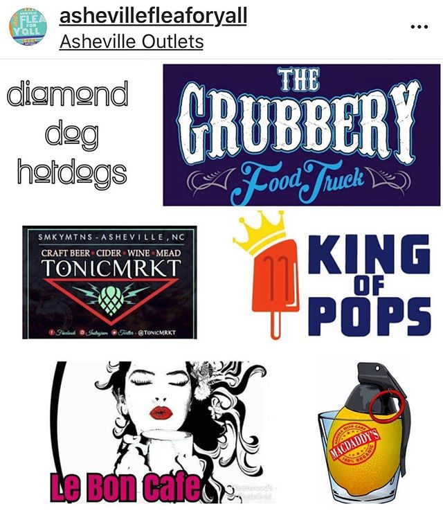 Sunday, August 26 @AshevilleOutlets! We're on a quest to quench thirsts while you search for vintage greatness during @AshevilleFleaForYall! Proceeds go to @MountainPetRescueAVL 🐶