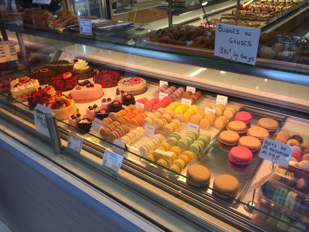 Ok, so the pastry place we went to was mostly dessert-based. But what's wrong with that? Also, those colorful things? Those are macarons. try one, you won't go wrong.  Photo by Max Siskind.