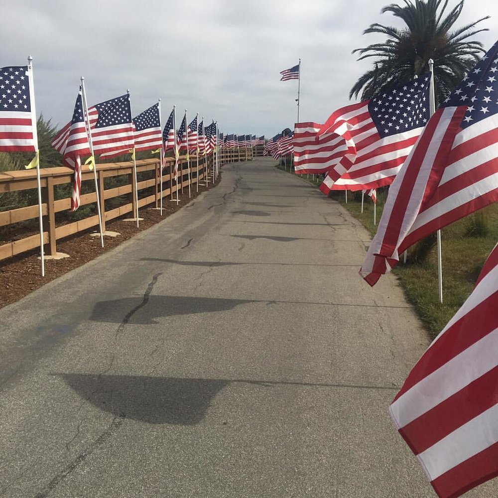 We are so lucky to live in such a great area, have you had a chance to walk Castaways Bluff?🇺🇸There are 1776 American Flags lined up in support and remembrance of our Veterans this Memorial Day Weekend! If you haven't made it up there yet, we truly recommend it. #dkfindshomes