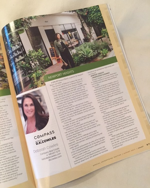 Pick up your local Coast Magazine and check out our full page article on this months issue! 🏡🌷🌼  #dkfindshome   #homesbydkcowles