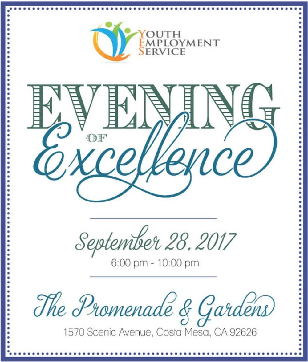 """Youth Employment Service (YES) will be hosting """"An Evening of Excellence"""" again this year where top YES employers of the year are honored for their on-going commitment to hire YES clients and support young adults as they transition into the workforce. Festivities will include a silent auction and wine vault with proceeds benefiting youngsters eager to land—and excel in—their first jobs. Learn more about the event by going to: http://yesworks.org/an-evening-of-excellence-2017/   This night is alot of fun so dont miss out!! Congratulations to YES for all their hard work! #homesbydkcowles  #dkfindshomes"""