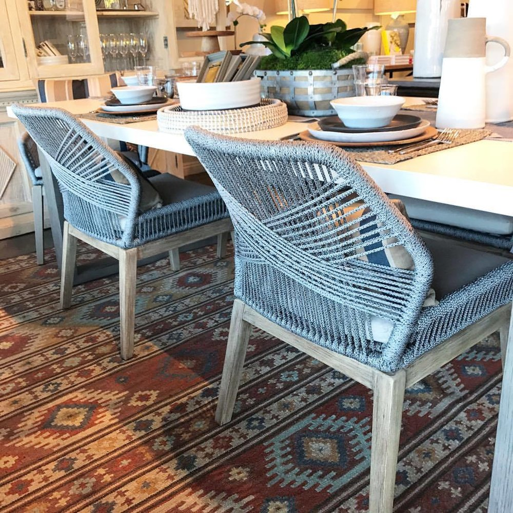 These new arrivals have ROPED us in 😍 #DiningChairs   #Gatehouseliving