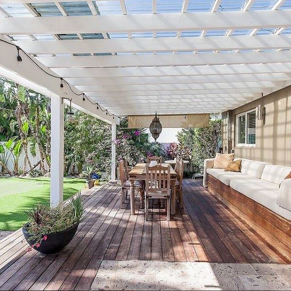 Compass Catch:  MIAMI 🌼🌺 Garden party – bask in tropical sunshine or shade yourself under the charming pergola at this gracious Morningside home || Repped by Marissa Kartheiser & Betsy Magde  #homesbydkcowles    #dkfindshomes    #compassrealestate