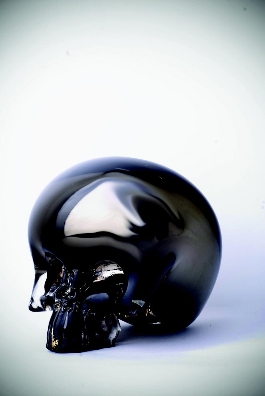 gold front skull