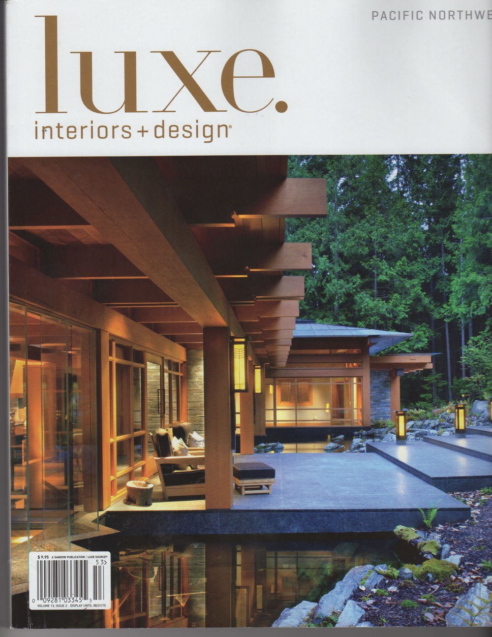 Luxe Magazine Pacific Northwest.