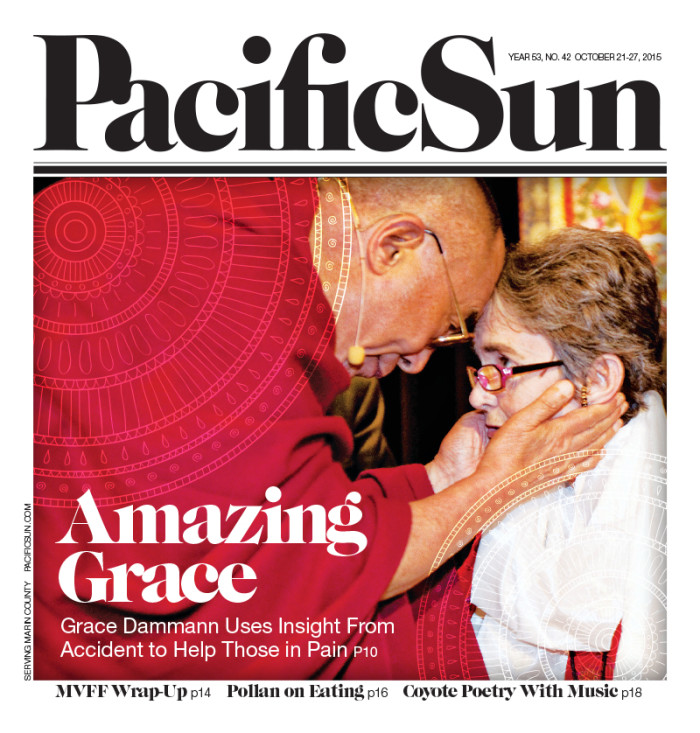 "A cover story in the Pacific Sun, by Joanne Williams, follows Dr. Grace Dammann's ""recovery to reinvention."""