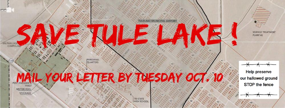 #SaveTuleLake