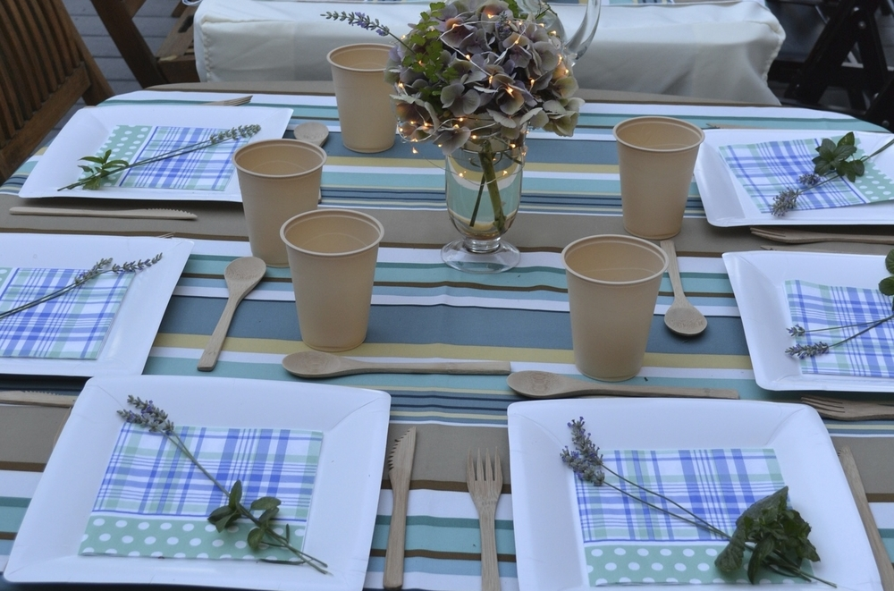 simple table settings